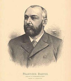 Portrét BARTOŠ František