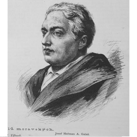 Portrét GALLAŠ Josef Heřman Agapit