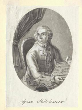 Portrét HOLZBAUER Ignaz Jakob