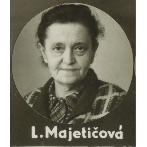 Portrét MAJETIČOVÁ Libuše